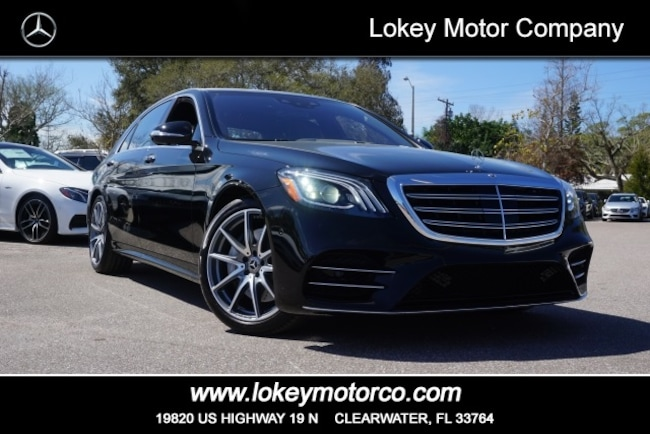 c98be444c2 2019 New Mercedes-Benz S-Class S 560 AMG Line Sedan For Sale ...