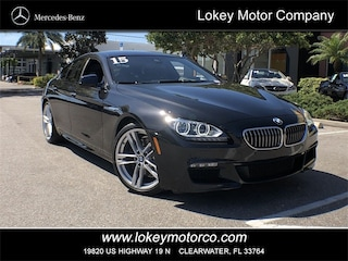 2015 BMW 6 Series 640i Gran Coupe Sedan