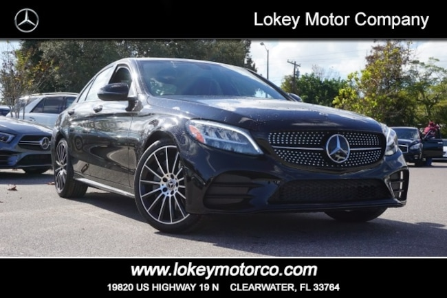 New 2019 Mercedes-Benz C-Class C 300 AMG Line Sedan Clearwater