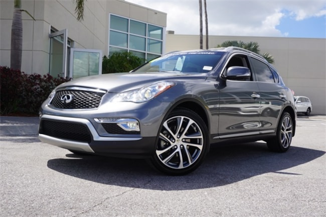 Infiniti Suv 2017 >> 2017 Used Infiniti Qx50 Base Suv For Sale Clearwater Fl