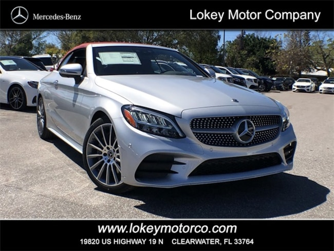 2019 New Mercedes Benz C Class C 300 Amg Line Cabriolet For Sale Clearwater Fl 19a718