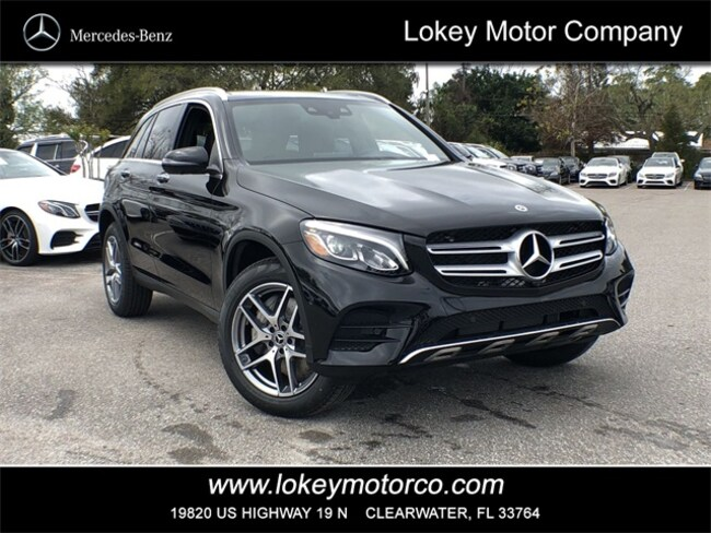 New Mercedes Suv >> 2019 New Mercedes Benz Glc 300 Amg Line Suv For Sale