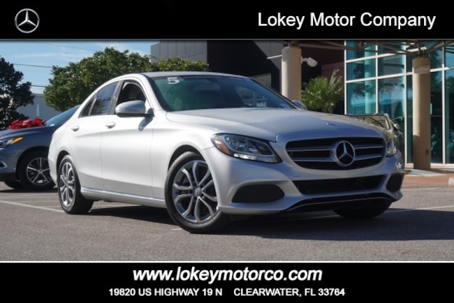 Certified Pre-Owned 2015 Mercedes-Benz C-Class C 300 Sedan Clearwater