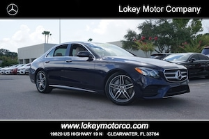 2018 Mercedes-Benz E-Class E 300 Luxury Line Sedan