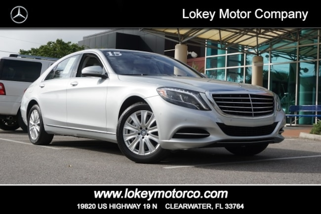 47099f196b Certified Pre-Owned 2015 Mercedes-Benz S-Class S550 Sedan Clearwater