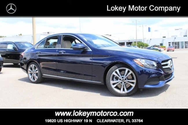 Pre-Owned 2018 Mercedes-Benz C-Class C 300 Sedan Clearwater FL