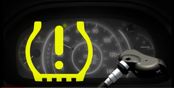 Check Tpms System >> Yellow Light On Learn To Check Your Honda Tire Pressure