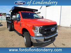 2020 Ford F-350 Chassis 2/3 Yard Duraclass Dump Cab and Chassis For Sale Near Manchester, NH