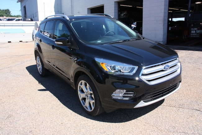 New 2017 Ford Escape Titanium 4WD SUV For Sale Near Manchester, NH