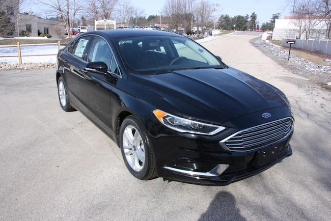 New 2018 Ford Fusion SE Sedan For Sale Near Manchester, NH