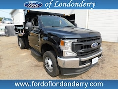 2020 Ford F-350 Chassis 2/3 Yard Galion Dump Cab and Chassis For Sale Near Manchester, NH