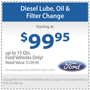 Ford Oil Change Coupon >> Oil Change Coupons Ford Powerstroke Diesel Forum
