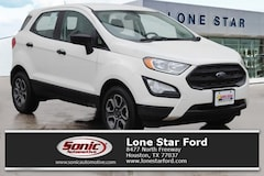 New 2018 Ford EcoSport S Crossover in Houston