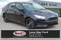 New 2018 Ford Focus S Sedan in Houston