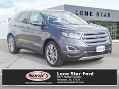 New 2017 Ford Edge Titanium Crossover in Houston
