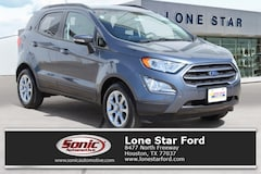 New 2018 Ford EcoSport SE Crossover in Houston