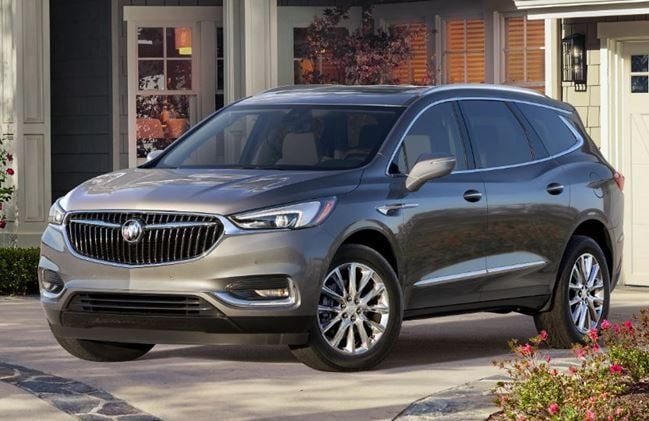 2018 buick enclave features