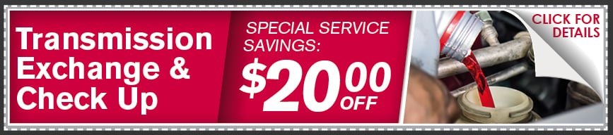 Transmission Fluid Check Up Coupon, McKinney