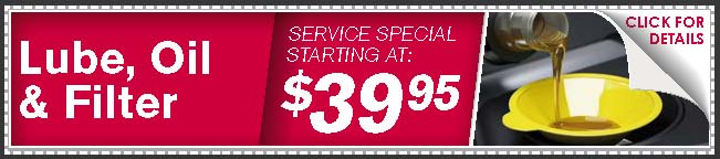 Lube, Oil, & Filter Coupon, McKinney