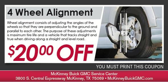 Mckinney Buick Gmc >> Buick & GMC Wheel Alignment McKinney, TX | Buick & GMC ...