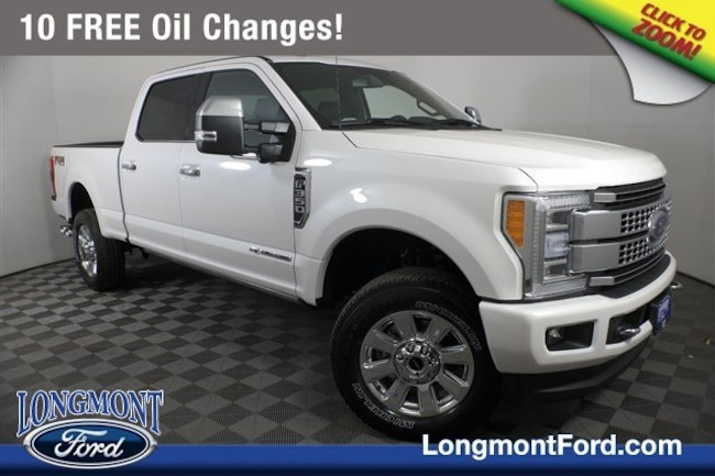 New 2019 Ford Superduty F-350 Platinum Truck Crew Cab For Sale Longmont, CO