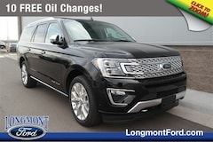 New Ford 2019 Ford Expedition Platinum MAX SUV in Longmont, CO