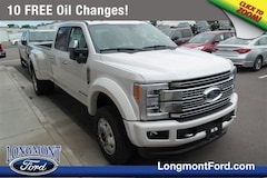 New Ford 2019 Ford Superduty F-450 Platinum Truck Crew Cab in Longmont, CO