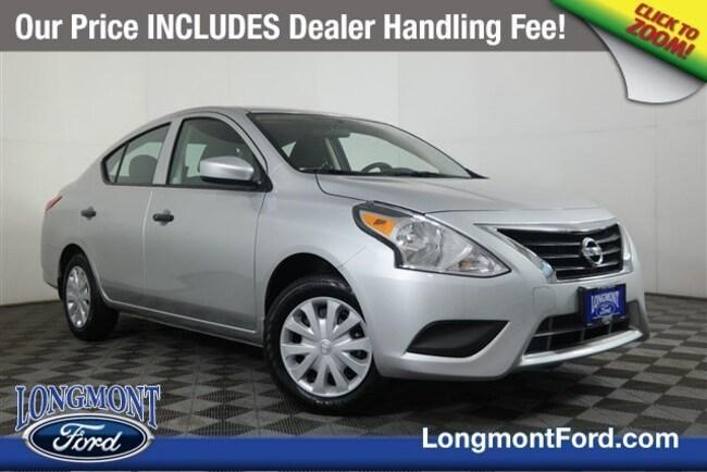 Used 2019 Nissan Versa Sedan For Sale Longmont, CO   Stock