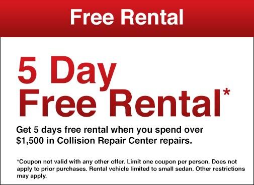 Toyota Collision & Auto Body Repair Specials in El Monte | Toyota