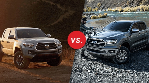 Comparison: 2019 Toyota Tacoma vs 2019 Ford Ranger