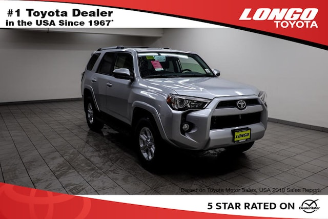 New 2019 Toyota 4Runner SR5 SUV Serving Los Angeles