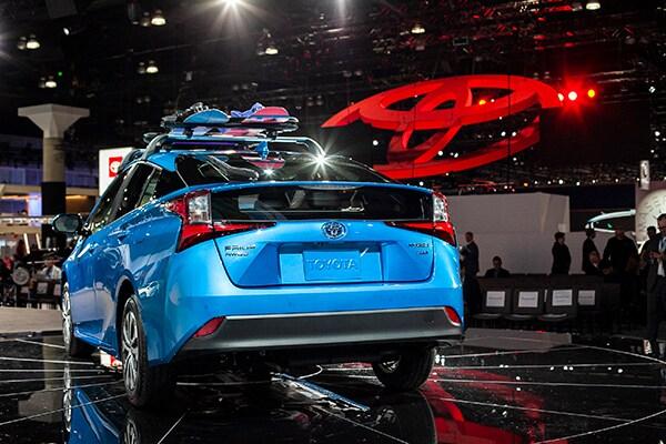LA Auto Show2019 Prius AWD-e