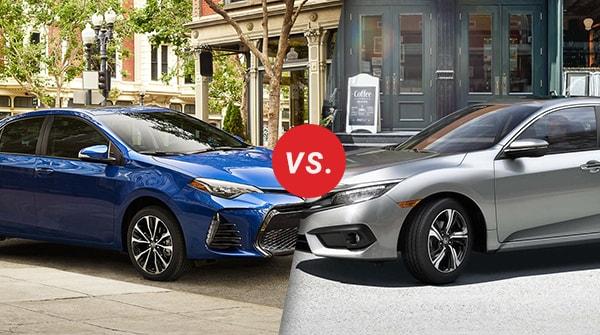 Comparison: 2017 Toyota Corolla vs 2017 Honda Civic