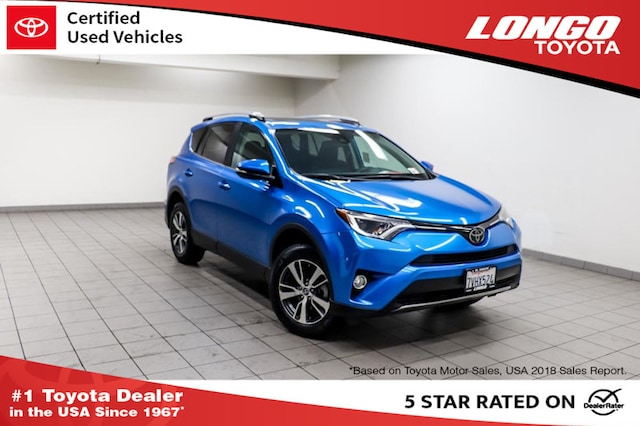 Certified Pre-Owned 2017 Toyota RAV4 XLE FWD SUV 2T3WFREV7HW312924 Serving Los Angeles