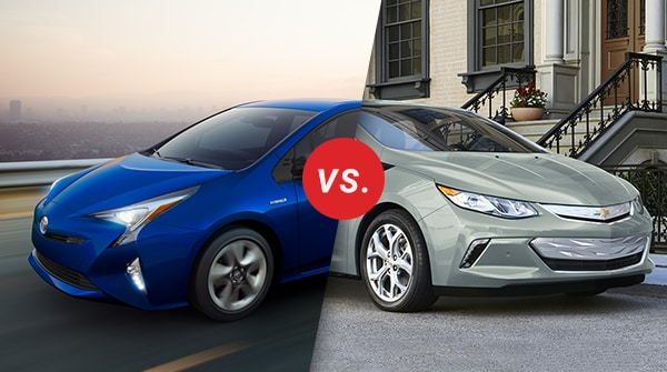 Comparison: 2018 Toyota Prius vs 2018 Chevrolet Volt