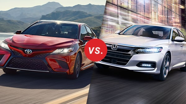 Comparison: 2018 Toyota Camry vs 2018 Honda Accord