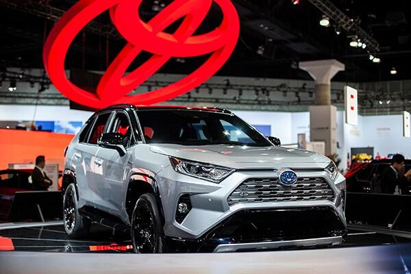 All-New Toyotas at the 2018 LA Auto Show