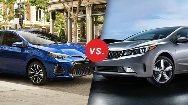 Comparison: 2018 Toyota Corolla vs 2018 Kia Forte
