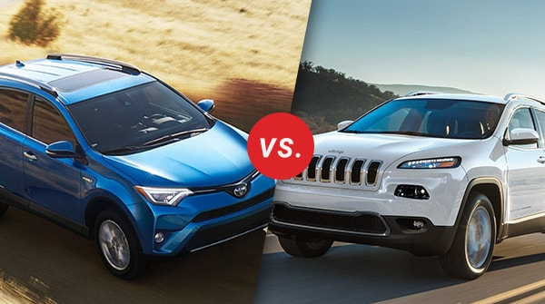 Comparison: 2018 Toyota RAV4 vs 2018 Jeep Cherokee