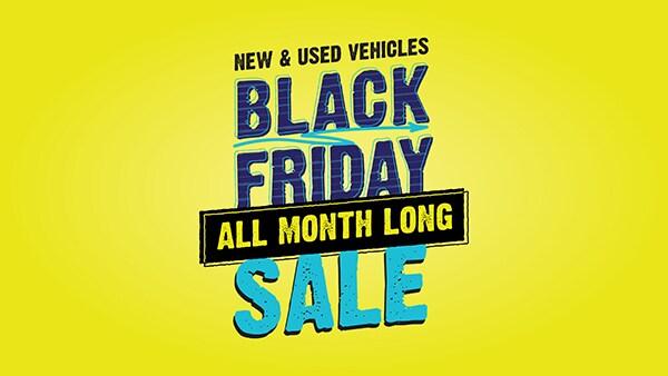 Black Friday Sale All November