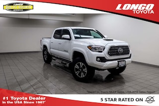 Used 2018 Toyota Tacoma TRD Sport Double Cab 5 Bed V6 4x2 Automatic Truck Double Cab 3TMAZ5CN7JM055512 Serving Los Angeles