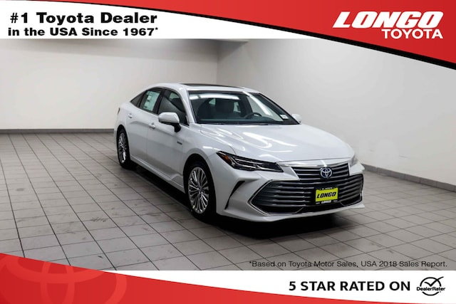 New 2019 Toyota Avalon Hybrid Limited Sedan Serving Los Angeles