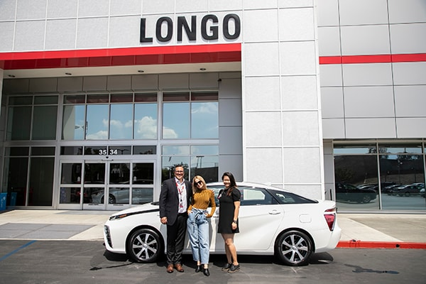 Mena Suvari Makes the Switch to a Toyota Mirai