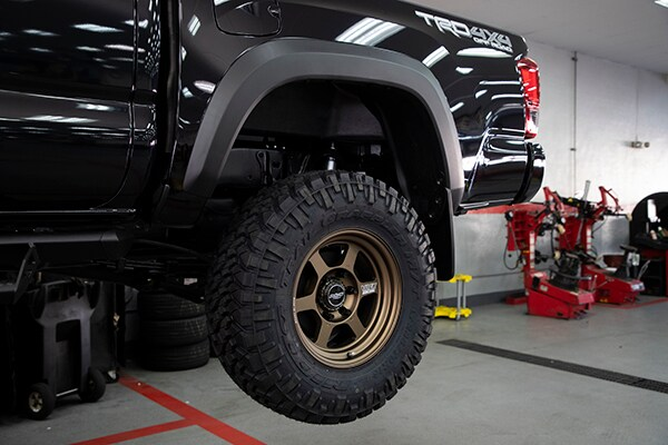 Longo Toyota Tacoma SEMA Project