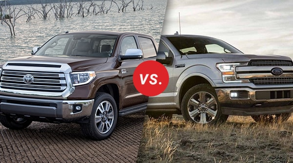Comparison: 2018 Toyota Tundra vs 2018 Ford F-150