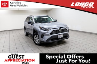Used 2019 Toyota RAV4 LE FWD SUV 2T3H1RFVXKW013327 Serving Los Angeles