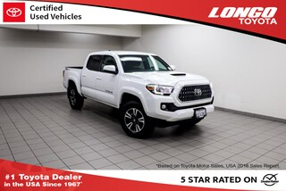 Used 2018 Toyota Tacoma TRD Sport Double Cab 5 Bed V6 4x2 Automatic Truck Double Cab 3TMAZ5CN7JM077784 Serving Los Angeles