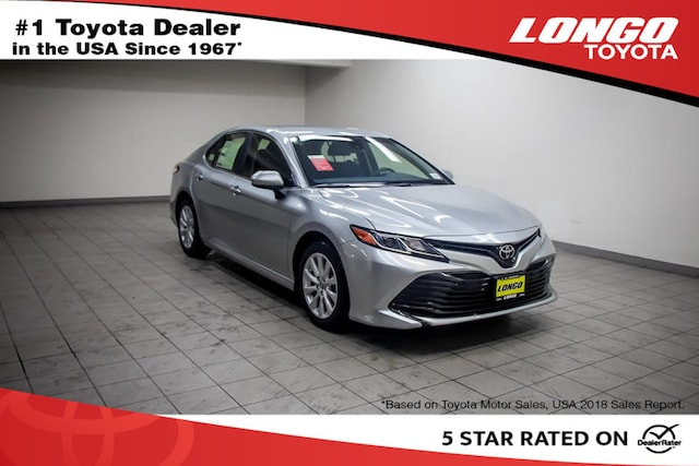 New 2019 Toyota Camry LE Sedan Serving Los Angeles