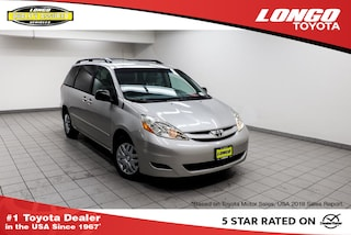 Used 2010 Toyota Sienna 8-Passenger  LE FWD Van 5TDKK4CC6AS323080 Serving Los Angeles