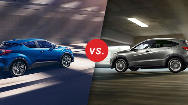 Comparison: 2018 Toyota C-HR vs 2018 Honda HR-V